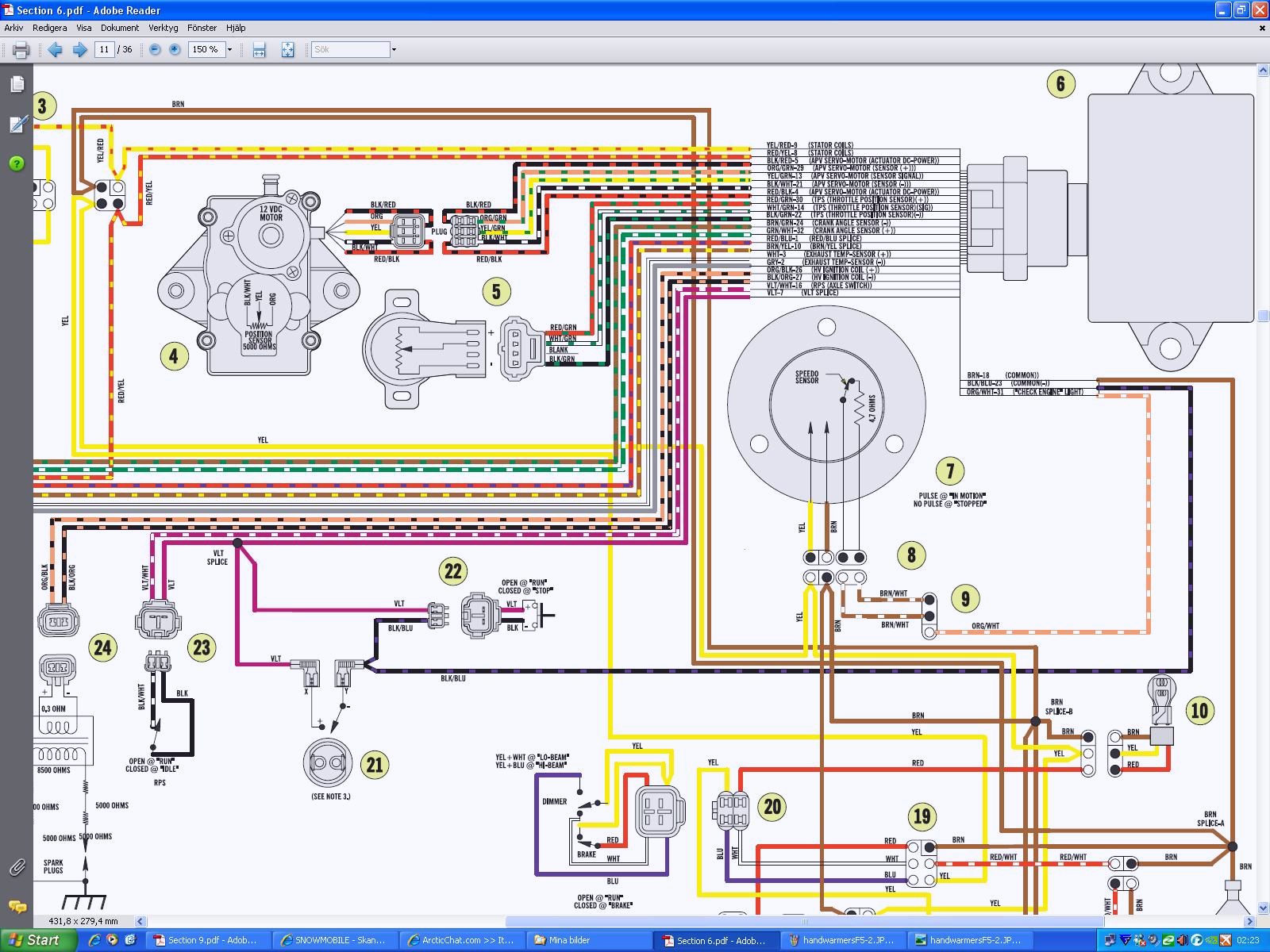 wiring schematic for 1998 arctic cat