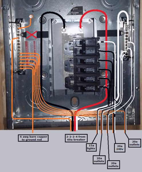 square d homeline 100 and load center wiring diagram