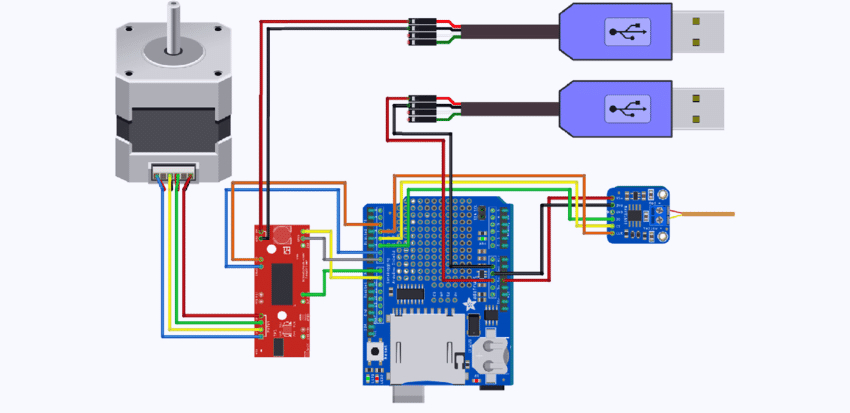 stepper motor wiring diagram collection
