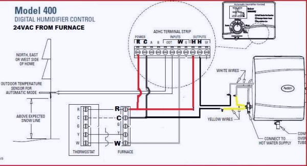 wiring aprilaire 60 humidistat carrier fort 92 furnace
